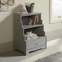 Sauder 419472 Eden Rue Accent Bookcase Sgs Light Wood Finish New - $176.98