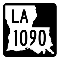 Louisiana State Highway 1090 Sticker Decal R6341 Highway Route Sign - $1.45+