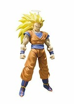 S.H. Figuarts Dragon Ball Z Super Saiyan 3 Goku 155mm PVC & ABS action f... - $143.65