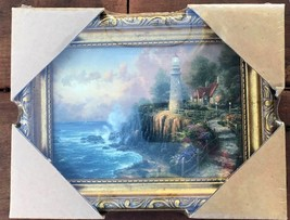 Thomas Kinkade The Light of Peace Framed Textured Print with Certificate... - $35.00