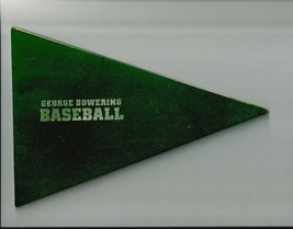 BASEBALL by GEORGE BOWERING Pennant Shape book,   Ex+++   1869  1 of 500... - $61.61