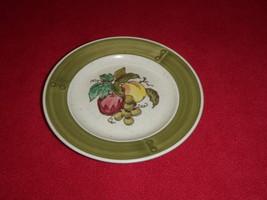 Metlox Poppytrail California Desert Plate Apple Grape Pottery - $20.56