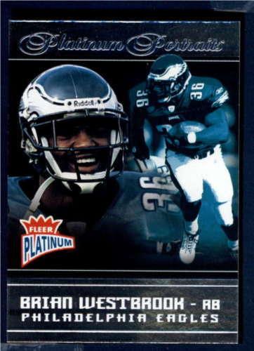 2004 Fleer Platinum Platinum Portraits  #3PP Brian Westbrook    ID:117 ID:117203