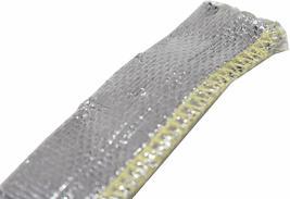 "Heat Sheath Aluminized Sleeving Heat Shield Protection Barrier 1/2"" x 36"" (3ft) image 7"