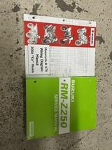 2004 2005 2006 Suzuki RM-Z250 RMZ250 Owners Service Repair Shop Manual Set - $69.25