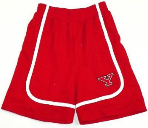 Boy's 6-18 Youngstown State Penguins Shorts YSU Athletic Gym Basketball Short