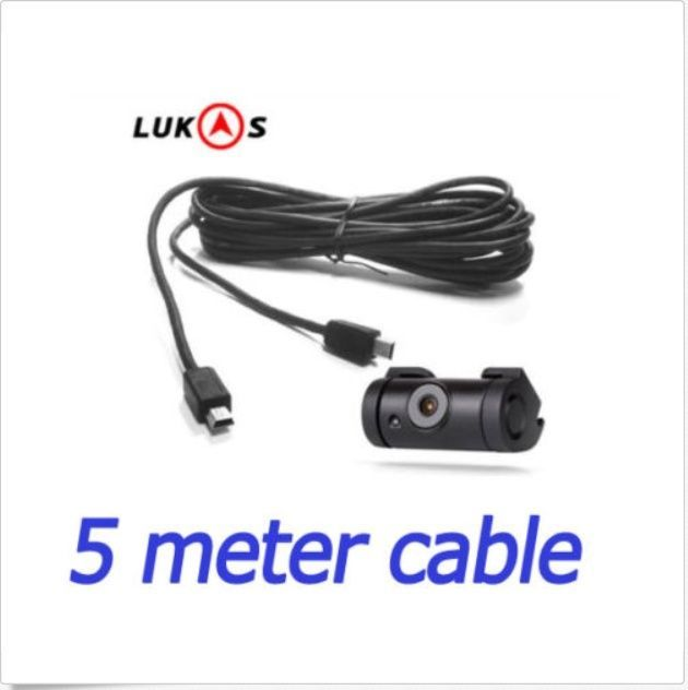 Lukas 5 Meter Rear Camera Cable Mini - Mini USB cable for LK-9X50, 9x00, LK-7950