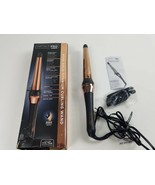 INFINITIPRO BY CONAIR Rose Gold Titanium Curling Wand, 1 ¼-inch to ¾-inch  - $26.73