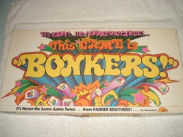 VINTAGE 1978 BONKERS BOARD GAME 100% COMPLETE - $24.99