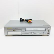 Emerson EWD2202 DVD / VCR VHS Combo Player Video Cassette Recorder MP3 No Remote - $39.99