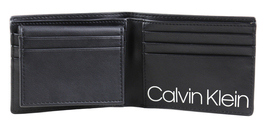 Calvin Klein Ck Men's Leather Billfold Id Wallet With Removable Card Case image 15