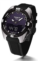 Tissot T091.420.46.051.01 T-Touch Expert Solar Black Leather Men's Watch - $1,062.25