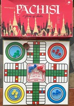 Pachisi Game of India Vintage 1962 Complete All Parts Whitman USA - $29.02