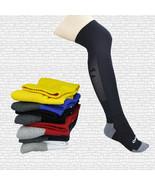 New Men Adult Basketball Football Knee High Socks Sports Warm Outdoor So... - $9.97