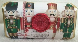 Nutcracker Shea Butter Soap Made In England Michel Design Works 8.7oz SUGAR PLUM - $14.95
