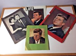 4  President John F. Kennedy Magazine Photos-Cover Photo Life Magazine, ... - $15.51