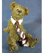 Boyds Bearstone Mr. Windsor All Tied Up #227770 Retired Bears 2002 - $11.95