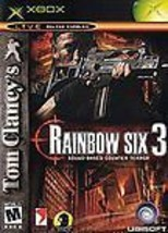 Tom Clancy's Rainbow Six 3 (X-Box 2003) Ubisoft~Shooter game - $3.00