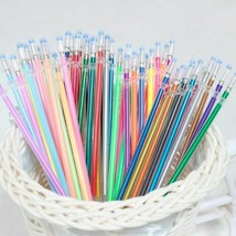 48 Colors Set Flash Ballpoint Gel Pen Highlighters Refill Color Full Shi... - $5.63