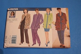 5156 UNCUT Butterick SEWING Pattern Womens Shirt Top Skirt Pants Plus Si... - $10.64