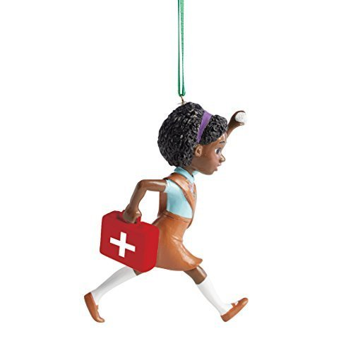 Primary image for Department 56 Girl Scouts Brownie First Aid Hanging Ornament