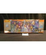 Disney Star Wars 3 puzzle pack makes Panorama Chewbaca Bobo Fett Han R2-... - $24.82