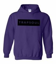 CC Bryson Tiller Trapsoul Hoodie Purple (Black Print) - $29.99