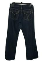 Calvin Klein Jeans Size 6 Dark Wash Flare Womans 28 X 29 Inseam - $14.85