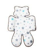 Infant Head Body Support Pillow,Kakiblin Cotton Baby Seat Pad for Car Se... - $16.04