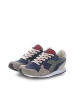 Scarpe Diadora Uomo TRIDENT Sneakers Grigio_Blu_Rosso linea Heritage Sca... - $121.47