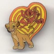 Simba Heart Pin Lion King- authentic UK Disney Stores Pin/Pins - $45.99