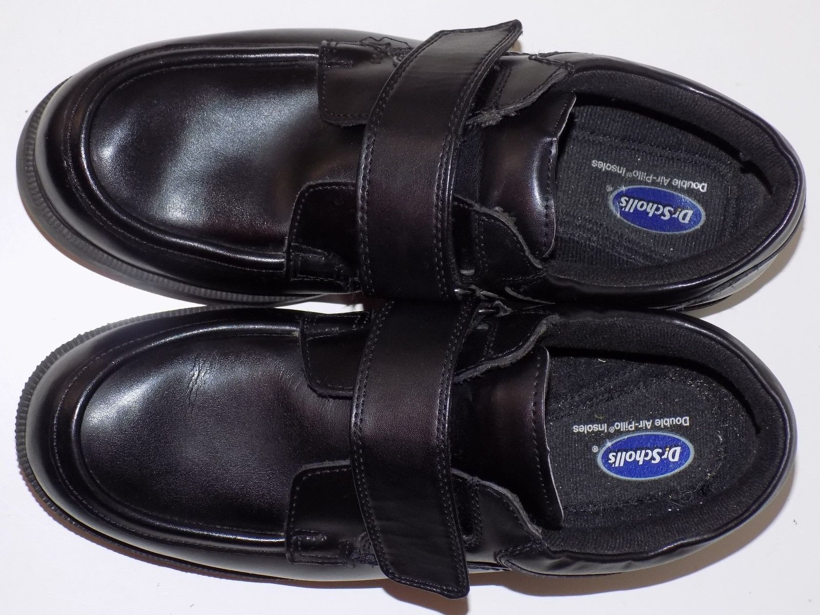 88facf415997 DR SCHOLL S-DOUBLE INSOLE-AIR PILLO BLACK LEATHER  MEN SHOES SIZE 10.5
