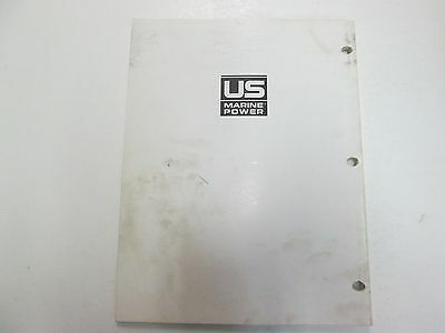 1984 1985 1986 Force Outboards 35 HP Outboard Motors Service Manual STAIN WORN** image 12
