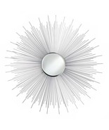 """Cool House Mirror 33"""" x 33"""" Starbust Sun Ray Round Decorative Wall Moder... - $114.20"""