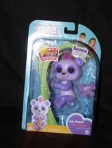 Wowwee Fingerlings Baby Glittery Purple Panda - Beanie NIB - $19.99