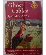 Mildred Wirt Nancy Drew author Ghost Gables hcdj World mystery story for... - $32.00