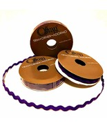 Offray Purple Ric Rac Three Narrow Rolls 1/4 inch x 3 yards Each Craft L... - $3.95