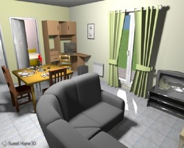 3D Home interor Design kitchen planner bathroom Design Software download - $3.00