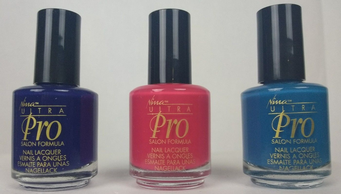 Nina Ultra Pro Nail Polish 3 pack .5 fl oz and 50 similar items