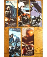 1969 Harley Davidson Brochure Lot, 8 items Electra Glide Sportster Sprin... - $116.97