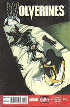 (CB-12} 2015 Marvel Comic Book: Wolverines #11 - $3.00