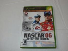 Nascar 06: Total Team Mando Microsoft Xbox 2005 E-Everyone Carreras Segu... - $16.03