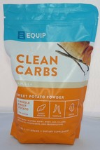 Equip Clean Carbs Vanilla Sweet Potato Powder New 1.7 lbs Dietary Supple... - $41.66
