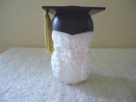 "Vintage Avon Milk Glass Sweet Honesty Graduation Owl Cologne "" SMELLS GR... - $18.69"