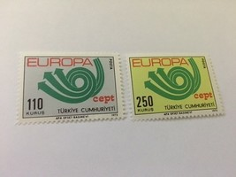 Turkey Europa 1973 mnh stamps - $2.50
