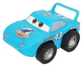 "STRIP 'THE KING' WEATHERS DISNEY PIXAR CARS TOY PULL BACK 3"" DINOCO FIGU... - $9.50"