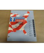 1976 Evinrude Servizio Negozio Manuale 200 hp 200649 200640 OEM Barca - $19.92
