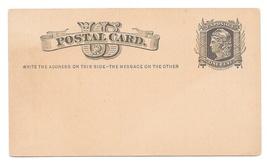 UX5 Postal Card Preprinted Boston Light Infantry Co A 4th Battalion Tigers 1877 image 3