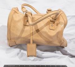 Calvin Klein Satchel Handbag Purse Monogram CK tthc - $123.74