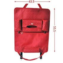 Auto Supplies Car Seat Back Organizer Multi-function Storage Bag,RED